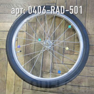 """Колесо 18"""" в сборе. · Германия · Арт.: 0406-RAD-501  ·  1500 руб."""