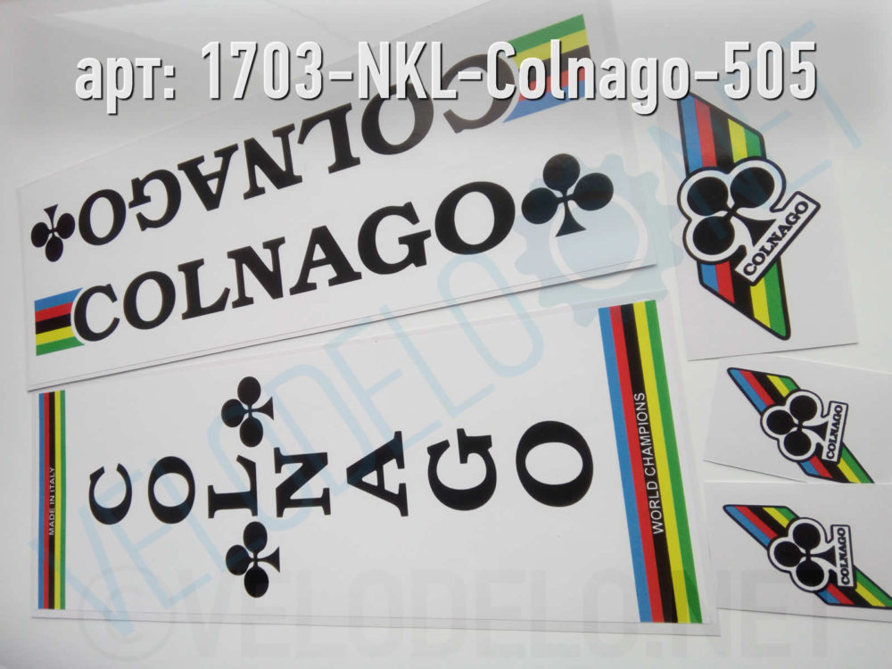 Набор наклеек Colnago · Украина · Арт.: 1703-NKL-Colnago-505  ·  550 руб.