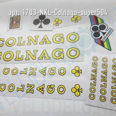 Набор наклеек Colnago Super · Украина · Арт.: 1703-NKL-Colnago-super504  ·  550 руб.