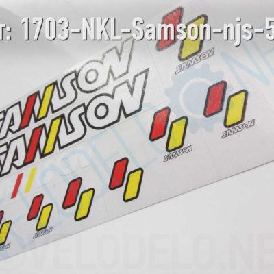Набор наклеек Samson · Украина · Арт.: 1703-NKL-Samson-njs-513  ·  550 руб.